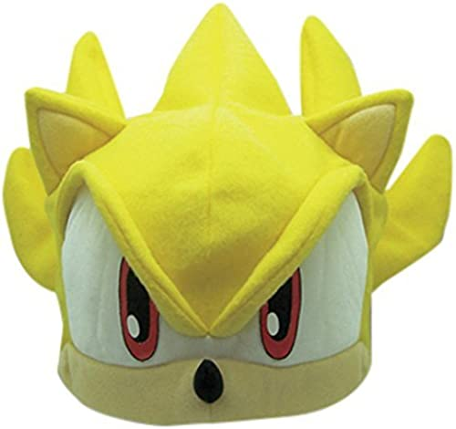 salida Great Eastern Entertainment Sonic The The The Hedghog  Super Sonic Fleece Cap by Sonic The Hedgehog  Disfruta de un 50% de descuento.