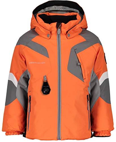 Obermeyer Boys Altair Jacket, Ober Orange, 6