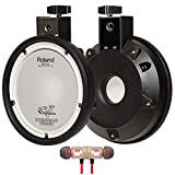 Roland Electronic Drum Pad, 6-inch (PDX-6) includes Free Wireless Earbuds - Stereo Bluetooth In-ear and 1 Year Everything Music Extended Warranty