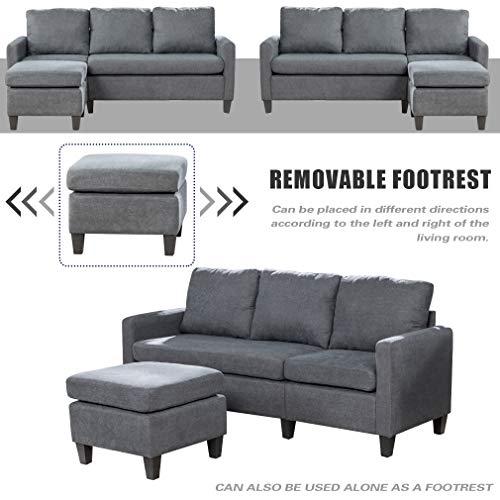 Sofa Sectional Sofa for Living Room Futon Sofa Modern Sofa Couches and Sofas Furniture Set Sofa Set Fabric Sofa Corner Sofa Upholstered Contemp