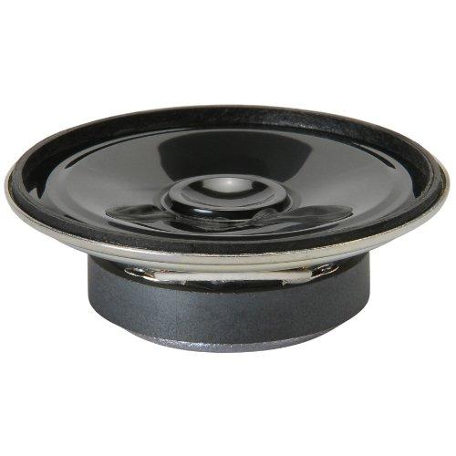 Visaton K 50 2W Schwarz - Lautsprecher (250-10000 Hz, Schwarz, Kunststoff, Verkabelt, -40-80 °C)