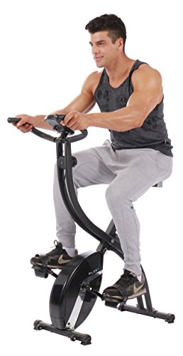 pleny Foldable Fitness Exercise Bike with 16 Level...