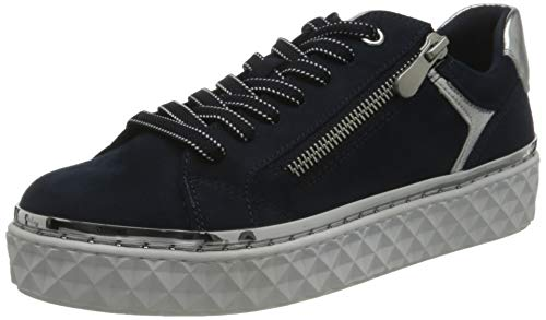 MARCO TOZZI 2-2-23706-26 Sneaker, Zapatillas Mujer, Azul Marino, 40 EU