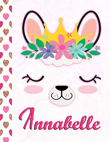 Annabelle: Personalized Llama Sketchbook...