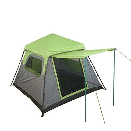 Busirsiz Tienda de campaña para 4 – 6 personas con diseño de camuflaje fácil de instalar, adecuado para exteriores, senderismo y