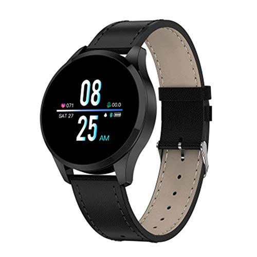 Reloj Inteligente Q9 Deportivos Bluetooth Pulsera De Moda del Ritmo Cardíaco De La Aptitud Perseguidor Impermeable De Los Hombres Y Las Mujeres Reloj Inteligente para iOS Teléfono del Androide,B