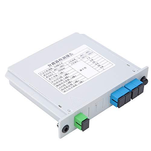 Divisor de fibra de audio de estabilidad óptica FTTP para cable de...