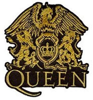 Queen Iron On Patch Fabric Applique Motif Rock Band Punk Metal 3 x 2.6 inches (7.5 x 6.5 cm)