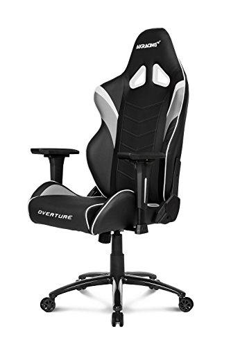 Ak Racing AK-OVERTURE-WT Gaming Stuhl OVERTURE schwarz/grau/weiß