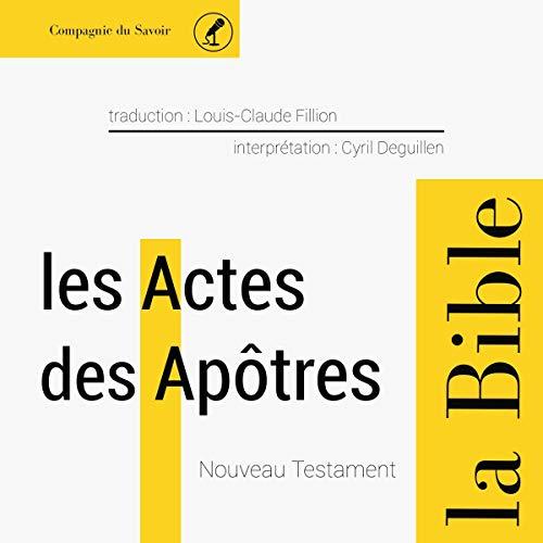 Actes des Apôtres Titelbild