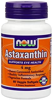 Astaxanthin 4 mg - 60 Vegetarian Softgels by NOW Foods