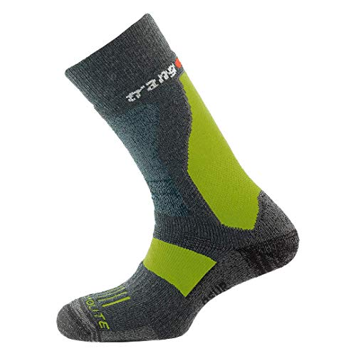 Trangoworld osur DS Chaussette, Homme M Anthracite/Lime