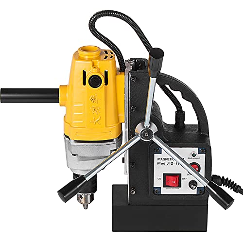 Mophorn Drill Press, 750W Magnetic Drill Press with 0.5-inch Boring Diameter Magnetic Drill Press Machine 1900lbs 550rpm Magnetic Drilling System Portable Electric Magnetic Drill Press