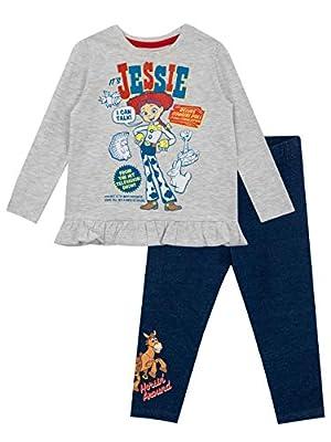 Disney Camiseta y Leggings para niñas Toy Story Multicolor 5-6 Años