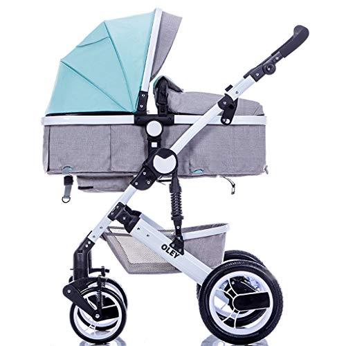 Kinderwagen Kann Sitzen Und Liegen Kinderwagen, Stoßdämpfende Klappkinderwagen, Kinderwagen Neugeborenen Kinderwagen, High View Kinderwagen