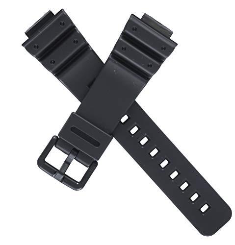 Original Casio Uhrenarmband schwarz für DW-6900, 71604262. Schließe : Kunststoff