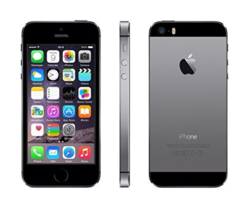Apple iPhone 5S Gris Espacial 16GB Smartphone Libre (Reacondicionado)