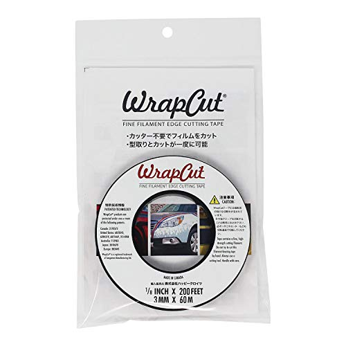 WrapCut(ラップカット) フィルムカットテープ 60m CHZ2661