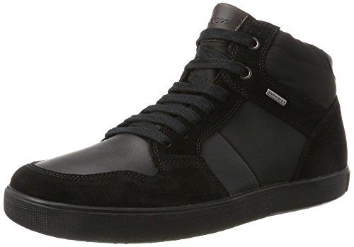 Geox U TAIKI B ABX A, Zapatillas Altas Hombre, Negro (Black/Anthracite), 45 EU