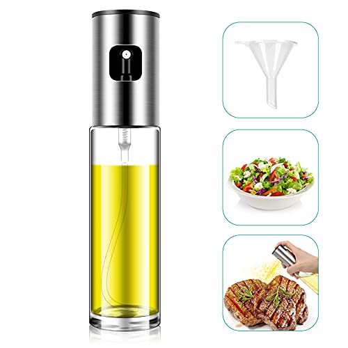 Oil Sprayer, Olive Oil Sprayer Dispenser for Cooking, Salad, Baking, Air fryer, Frying Kitchen, Olive Oil Sprayer for BBQ, Fried Chicken