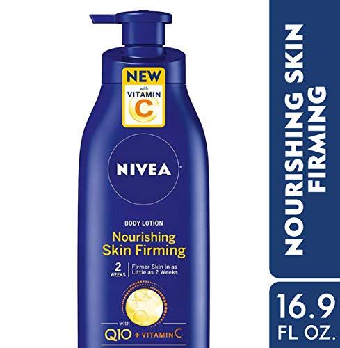 41qZCfzABoL - NIVEA Nourishing Skin Firming Body Lotion w/ Q10 and Vitamin C - 48 Hour Moisture for Dry to Very Dry Skin -  16.9  Fl. Oz. Pump Bottle