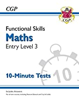 New Functional Skills Maths Entry Level 3 - 10 Minute Tests (for 2020 & beyond)