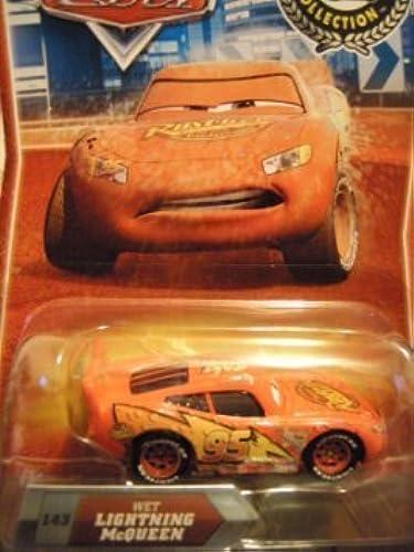 Disney   Pixar CARS Movie Exclusive 155 Die Cast Car Final Lap Series Wet Lightning McQueen by Disney