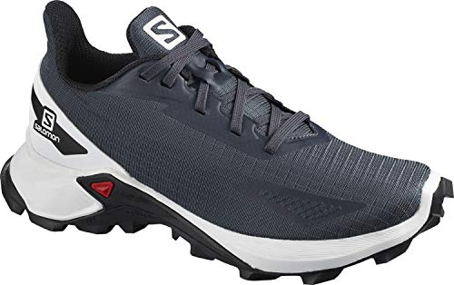 SALOMON Kinder ALPHACROSS Blast J, Grau (India Ink/White/Black), 37 EU