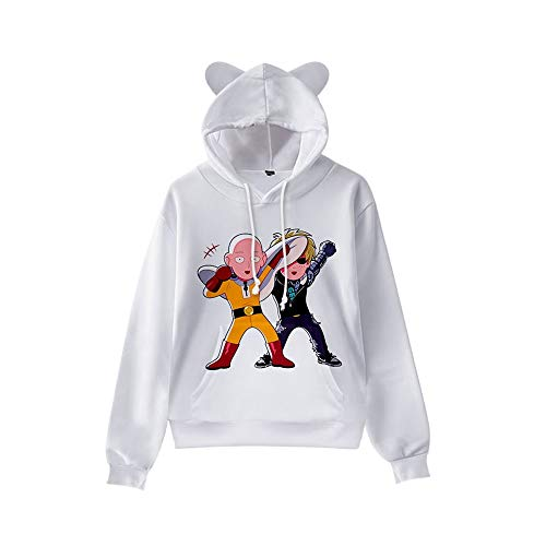 Baby Girls' Sweatshirt T-Shirt One Punch-Man,White,Blue,Yellow Spring and Summer Beach Sunscreen Long Sleeves
