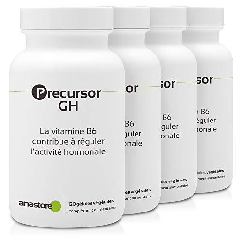 PRECURSOR GH * PACK 3+1 GRATIS * 480 capsule * Ricco di aminoacidi * Energia, Ossatura, Pelle, Peso, Rendimento Sportivo, Vitalità