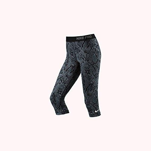 Nike Mujer Pro alturas Vixen Training Capris, Negro, mujer, color negro, tamaño extra-large