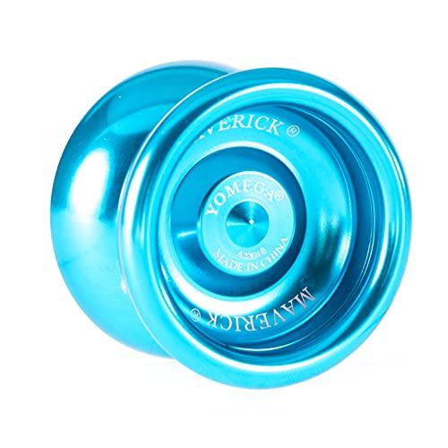 Yomega Maverick Yoyo profesional de aluminio para niños y principiantes con rodamiento...