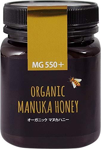 おもちゃ箱 マックスハニー オーガニック マヌカハニー MG550+ 250g