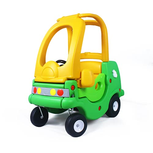 Bicicletas para niños, colores brillantes, materiales respetuosos con el medio ambiente, mini cochecitos de puerta dual con ruedas de dirección simuladas, adecuadas para niños mayores de 18 meses