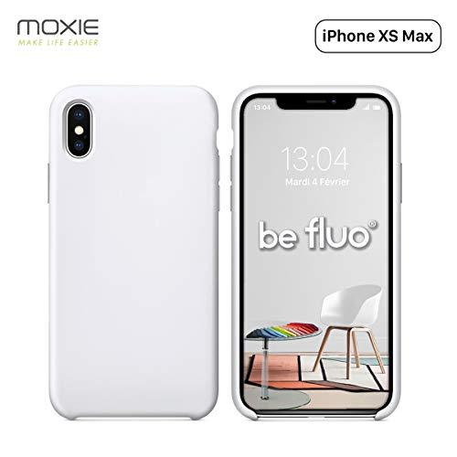 MOXIE - Carcasa para iPhone XS MAX [BeFluo], Compatible con Apple iPhone XS MAX Apple iPhone XS MAX 6.5 pouces Recharge Sans Fil Chargeur Sans Fil Chargeur à Induction