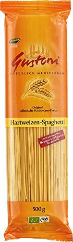 Gustoni Bio Hartweizen-Spaghetti,, bronze (2 x 500 gr)