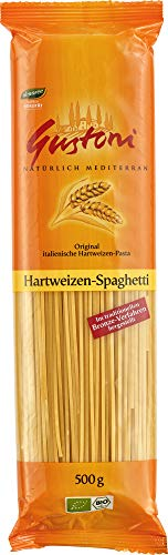 Gustoni Bio Hartweizen-Spaghetti,, bronze (6 x 500 gr)