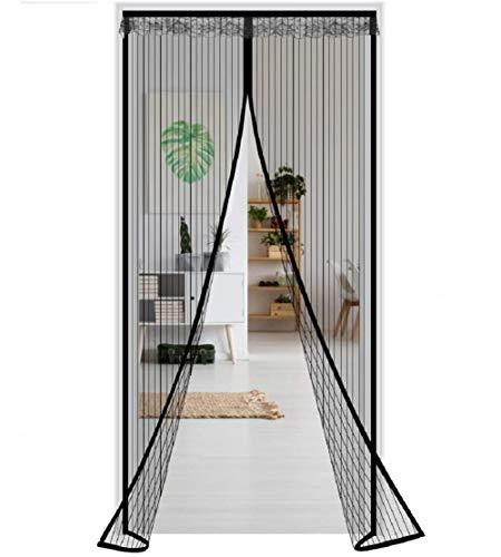 Haofy Mosquitera Magnética para Puertas Cortina Protección contra Insectos Malla de Pantalla De Insectos para Puerta de Balcón Sala de Estar Puerta (100 x 210CM)