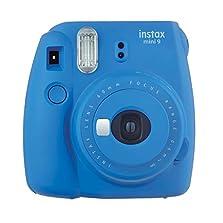 Fujifilm Instax Mini 9 Kamera, kobalt-blau©Amazon