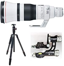 $12999 » Canon EF 600mm f/4L is III USM Telephoto Lens USA Warranty Warranty - Bundle with FotoPro X-Go Max Carbon Fiber Tripod with Built-in Monopod FPH-62Q Ball Head, Fotopro E-6H Gimbal Head, Black