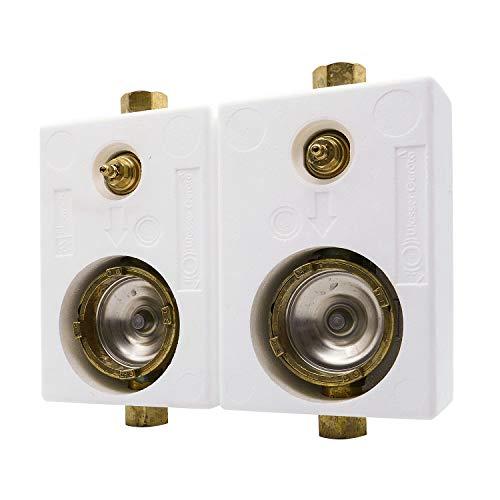 Montageblock Duo Allmess WG TEC 3000 Messing Ausführung mit DVGW-Ventil