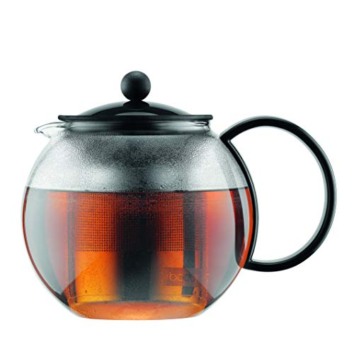 Bodum 1805-01TG Assam Tea Press, 34 Oz, Black