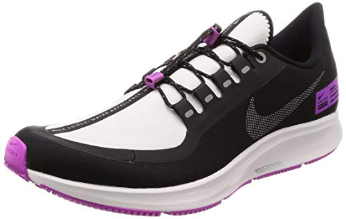 Nike Air Zm Pegasus 35 Shield - Zapatillas de fitness para hombre, color blanco y gris, color Negro, talla 46 EU