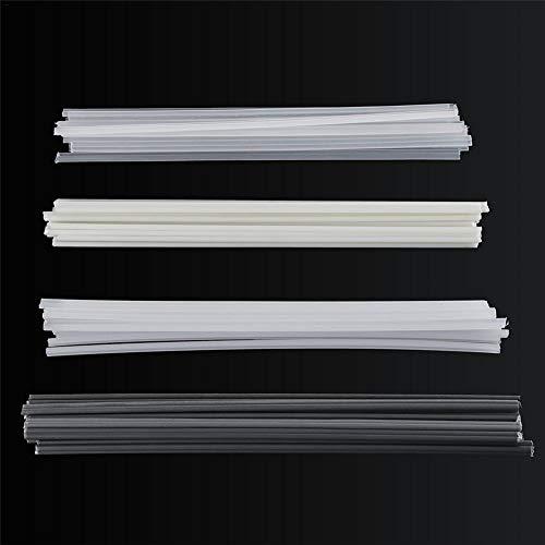 WXGY Schweißstäbe, schweißstäbe Kunststoff, Kunststoffschweißstangen Stoßstangenreparatur ABS/PP/PVC/PE Schweißstäbe Schweißlötzubehör 50PCS