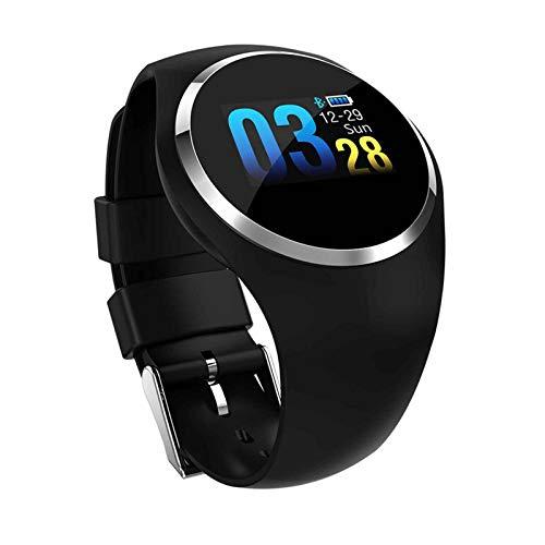 Reloj Inteligente Pantalla táctil de 1.3 Pulgadas Reloj Deportivo Inteligente 9 Modos Deportivos, recordatorio de Llamada de Mensaje, Escucha de música, monitoreo de la Salud del Ritmo cardíaco