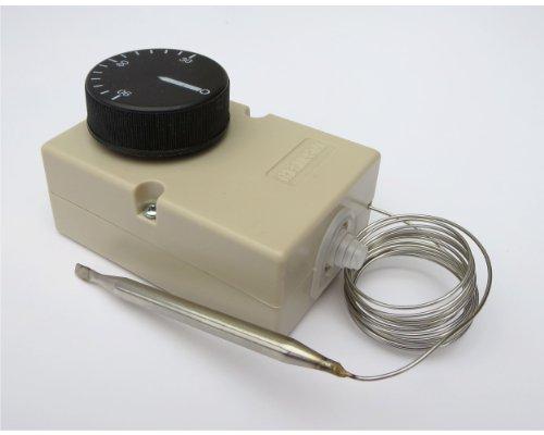 Thermostat Kapillar KTW Heizungs Regler 30-90°C Schaltleistung 16A Fühler 1500mm