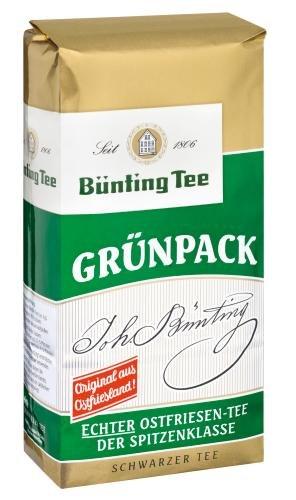 Bünting Grünpack Ostfriesen-Tee, 9er Pack (9 x 100 g Packung)
