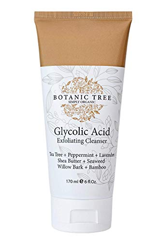Glycolic Acid Face Wash Exfoliating Cleanser 6oz w/10%...
