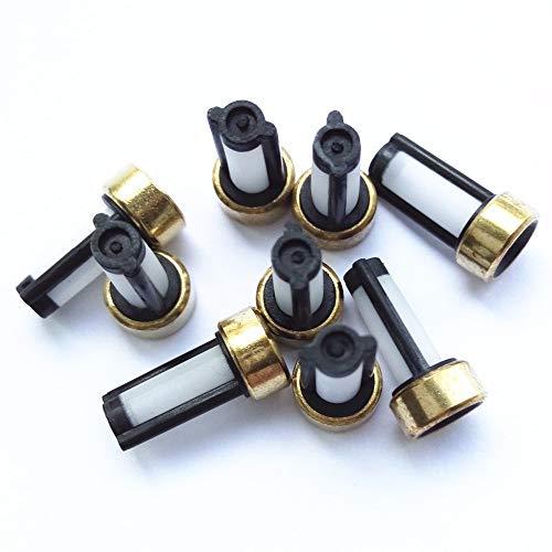 QIUXIANG 1000pieces Universal del inyector de Combustible Micro Filtro 12 * 6 * 3 mm ASNU03C GB1-109 11001 en Forma for el inyector Bosch Filtro (AY-F101) Durable