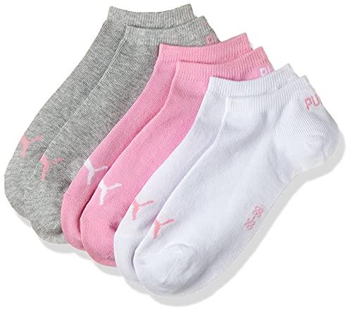 PUMA Sneaker Plain 3p Calze Sportive, Prism Pink, 39/42 (Pacco da 3) Unisex – Adulto